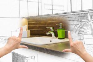 bathroom remodel. bathroom renovation budget.